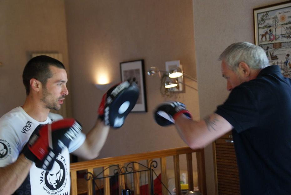 séance de boxe à domicile
